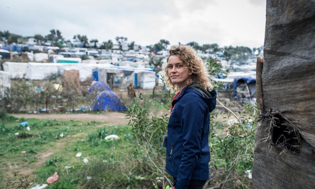 Header lesbos 1 Karin werkte in het vluchtelingenkamp Moria op Lesbos