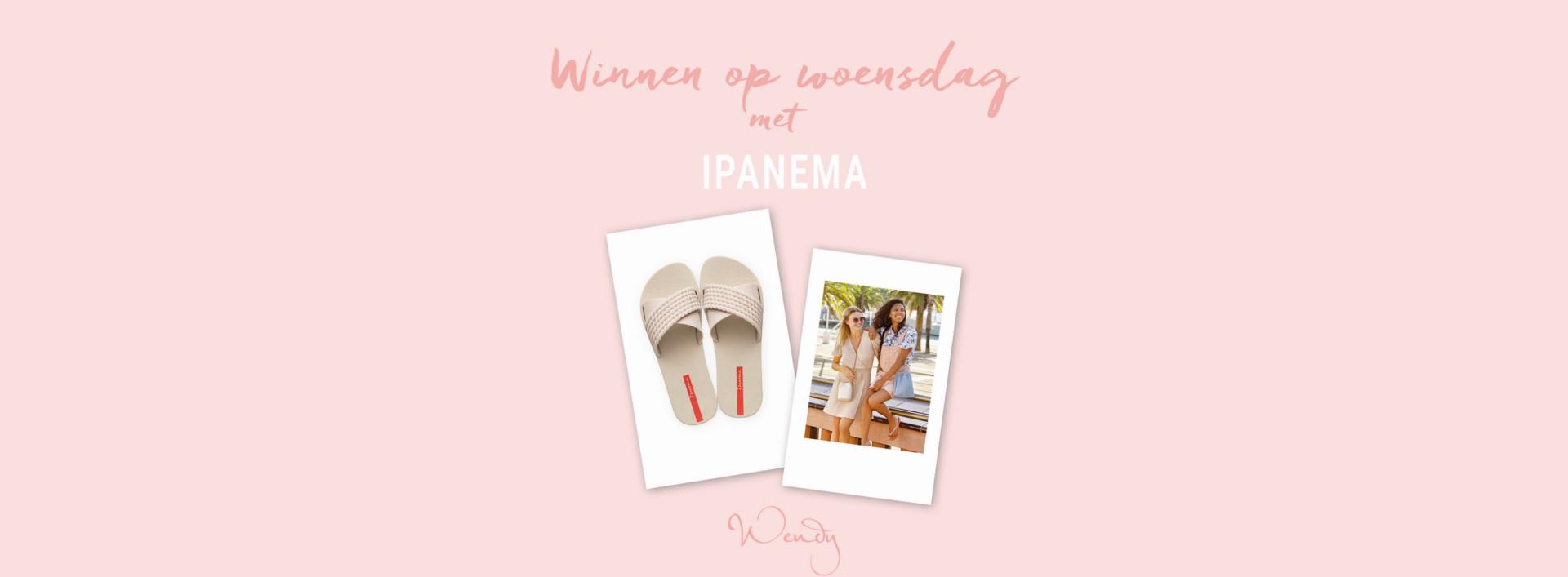 Header winnen op woensdag ipanema Winnen op woensdag: win een paar Ipanema Street slippers