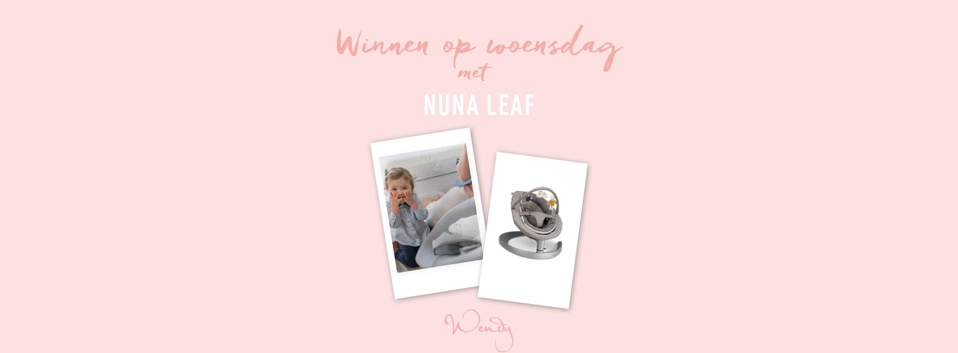 E492461E 0678 4DB8 BCD1 4A8E72A885FA Winnen op woensdag: Nuna Leaf Grow schommelstoel voor baby en kleuter