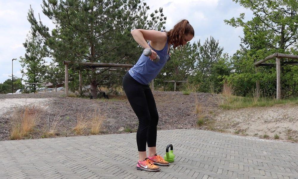 Dumbells & kettlebell workout