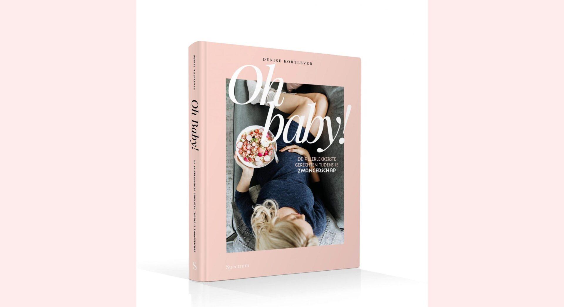 Header website Ohbaby scaled Recept: zwangerproof tiramisu en maak kans op het boek Oh Baby! van Denise Kortlever