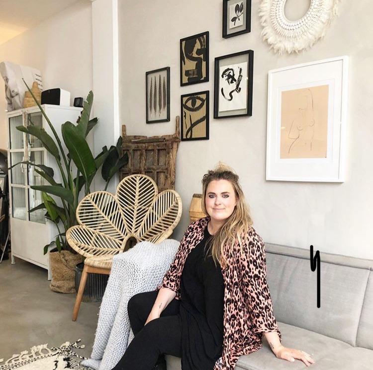 IMG 5312 Vlog 8 | Sanne van &Stijl | Alles in de verf: muren, potten, een stoel...
