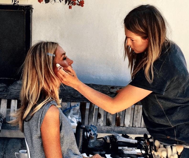 Schermafbeelding 2018 05 30 om 11.25.59 Wendy visagiste Gwendolyn over make-up voor een zwoele zomerdag