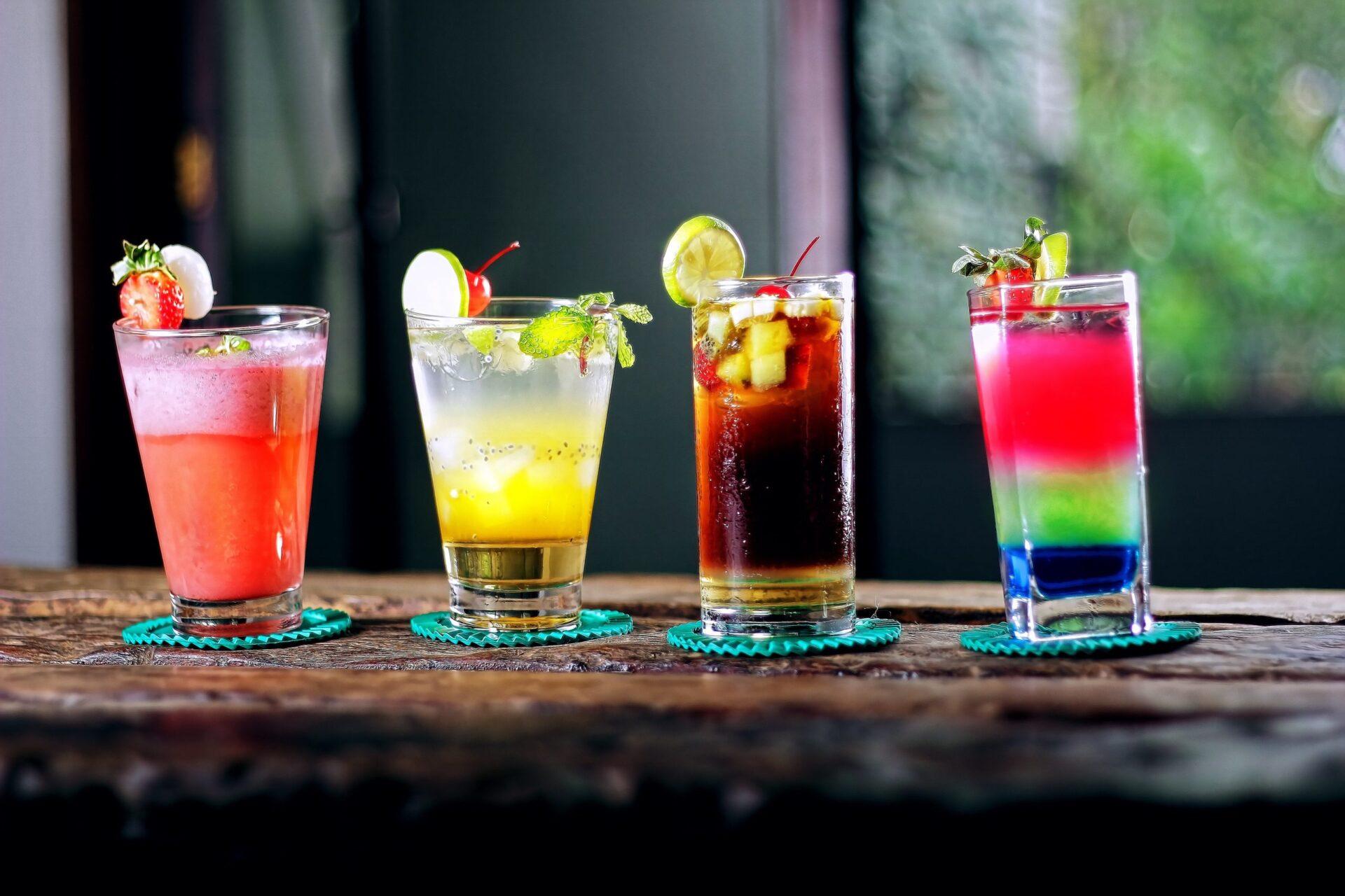 alcoholic beverages bar beverage 605408 scaled De Gay Pride cocktail: Taste the Rainbow!