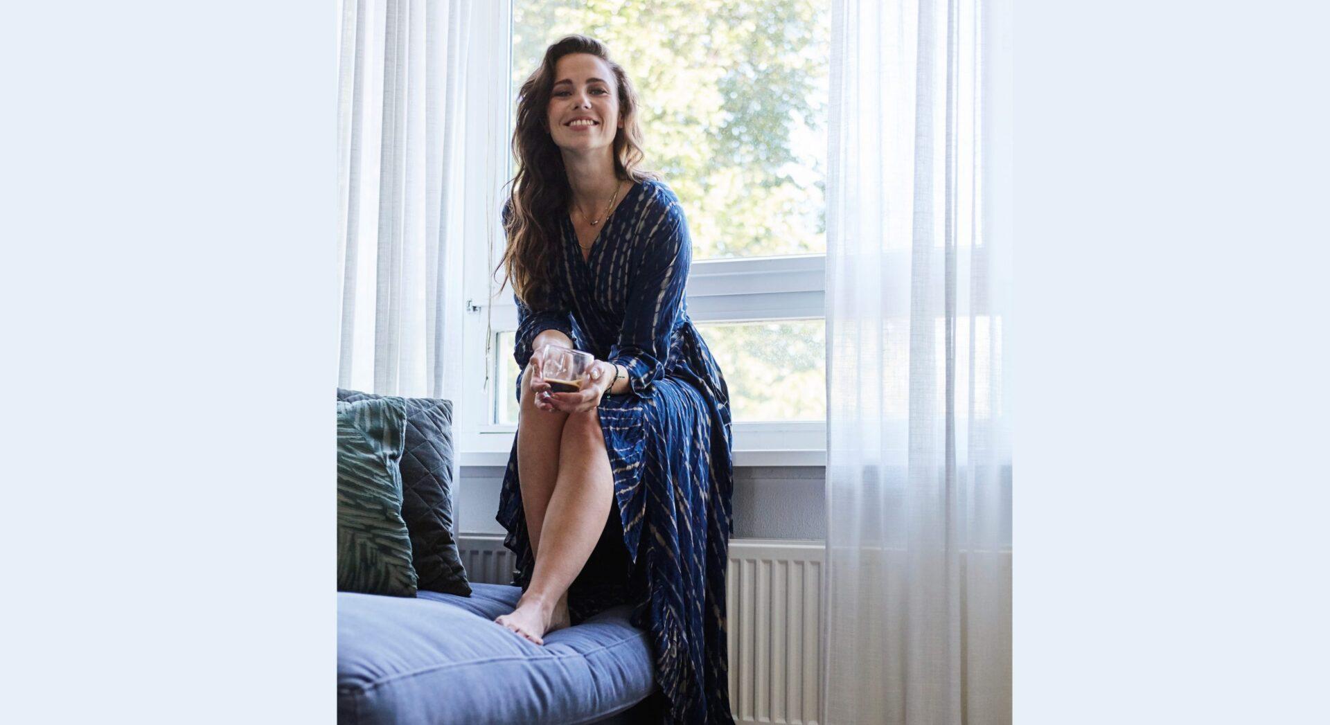 header gwen scaled Interview met Gwen van Poorten: 'Doordat ik hier zo kan ontspannen, heb ik mezelf beter leren kennen'