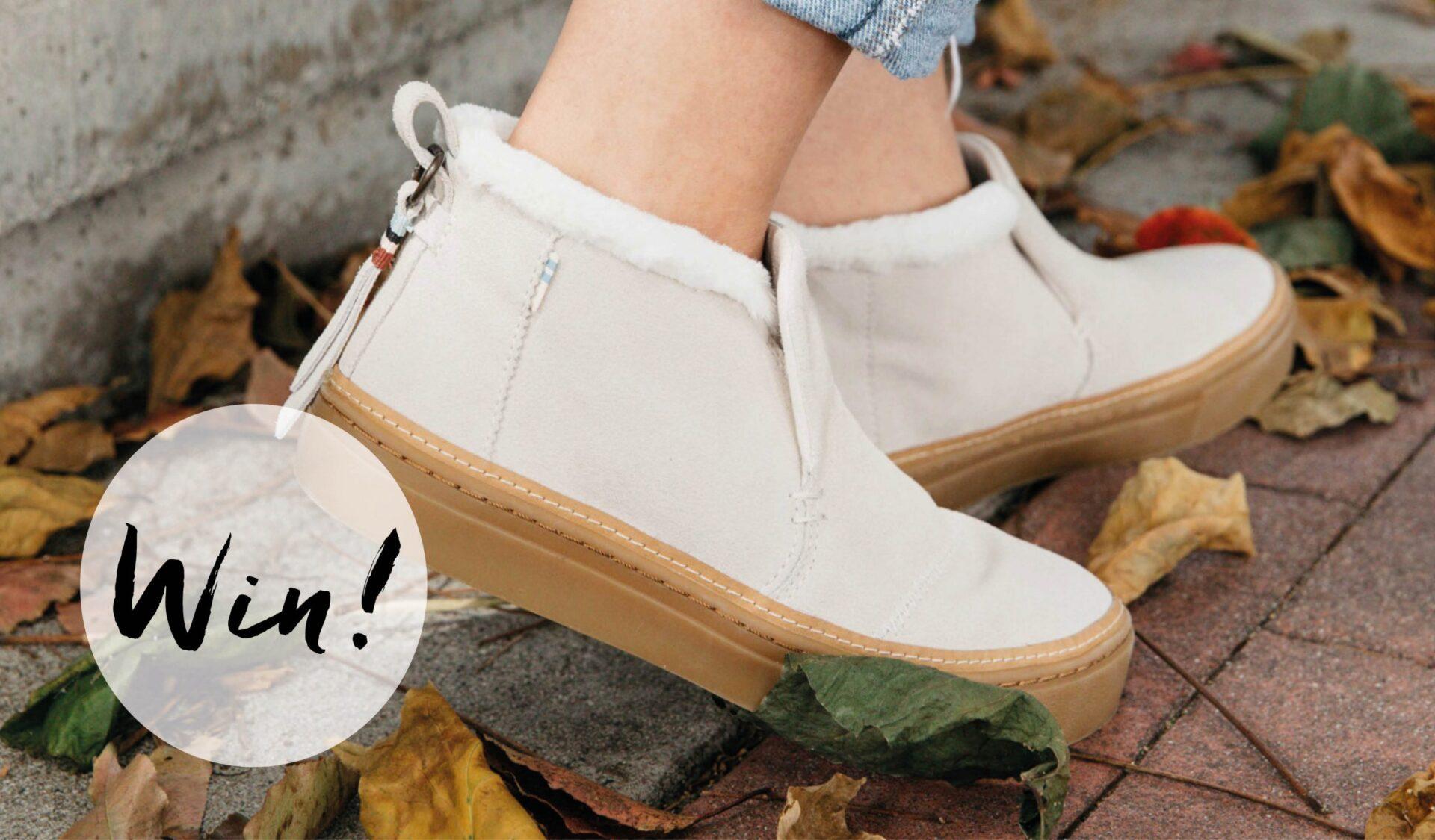 schoenen scaled Winnen: 2x een paar sneakers van TOMS