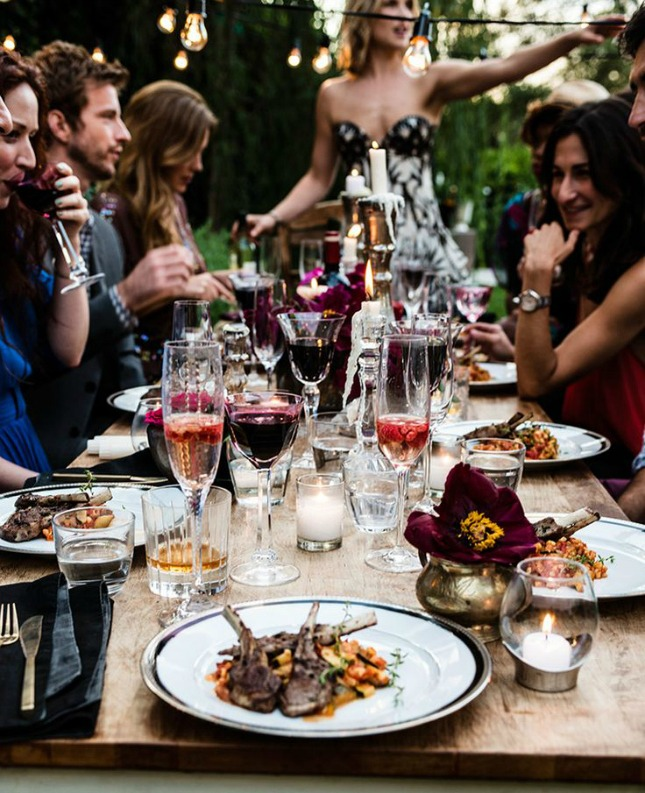 13 koken en eten met vrienden