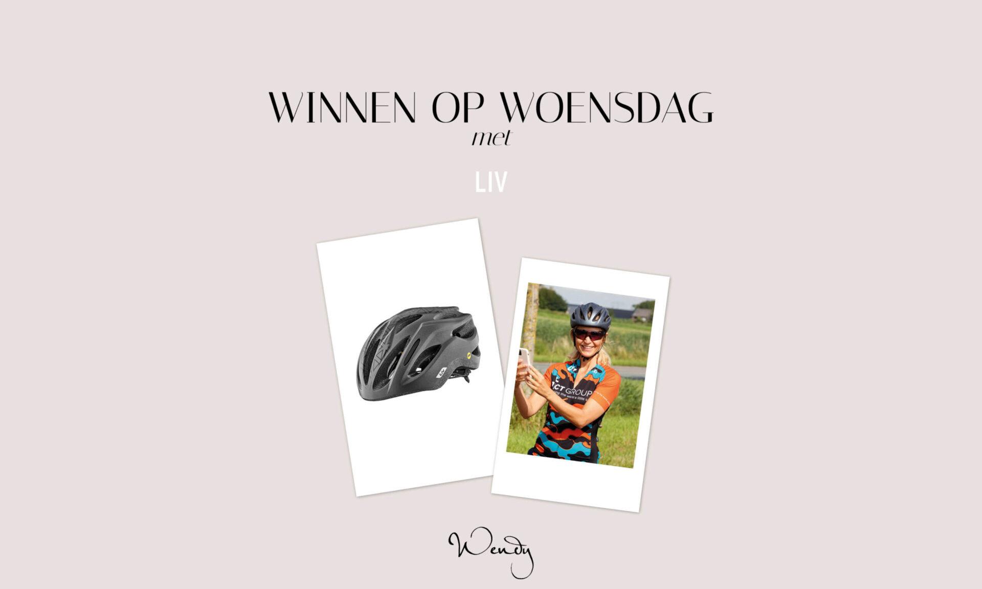 2 Header winnen op woensdag scaled Winnen op woensdag: een lichte racefiets helm van Liv