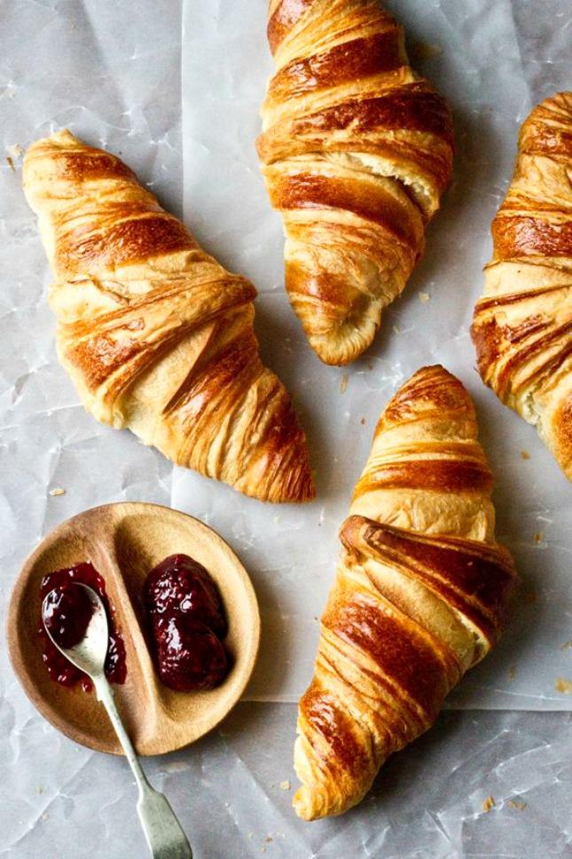 3 vers croissantje - #geluksmoment