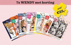 Abonnement WENDY magazine