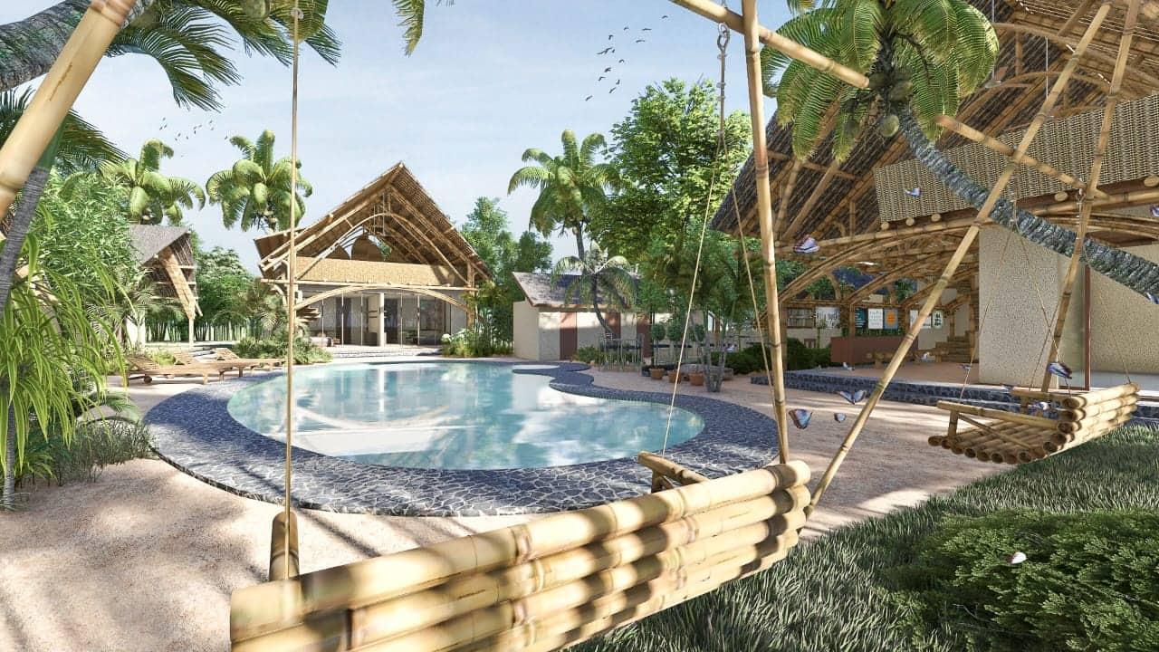 The New Villa Nangka 2 Rose: 'Gelukkig zien we dat het mooi wordt. Mooi, mooier, mooist'