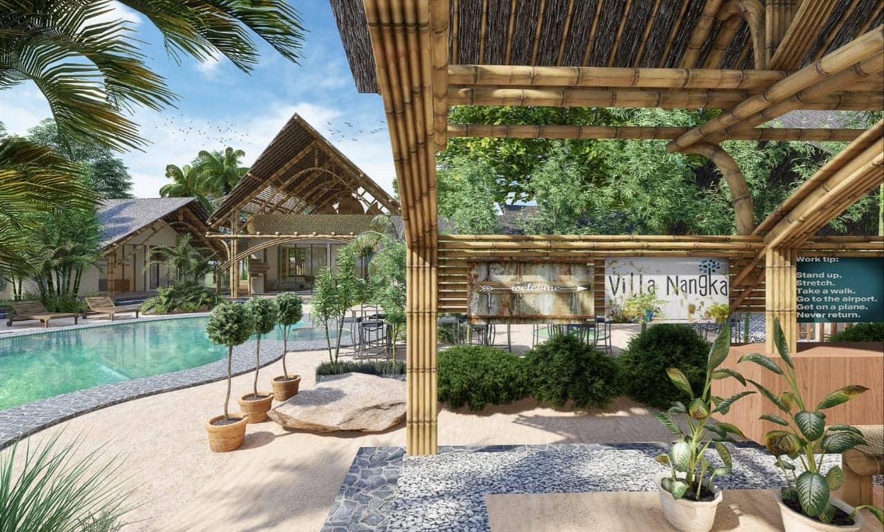 The New Villa Nangka Rose: 'Gelukkig zien we dat het mooi wordt. Mooi, mooier, mooist'
