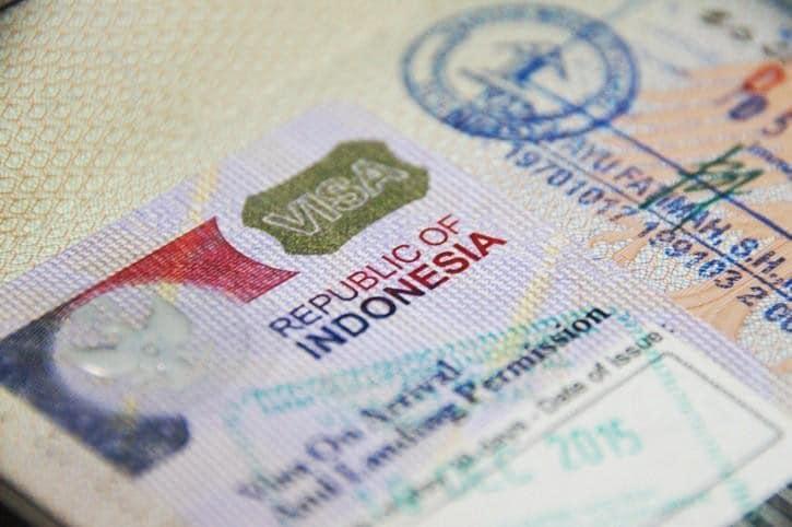 Visa voor Indonesie