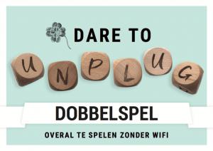 Dobbelspel Dare to Unplug