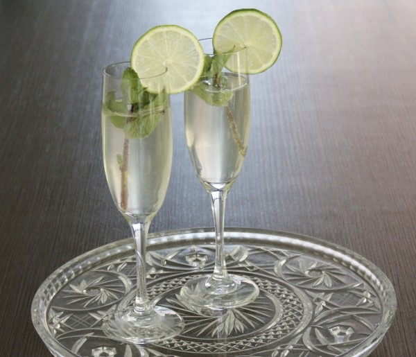 champagnecocktail moijto royal