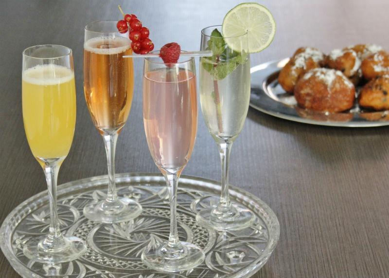recepten champagnecocktails