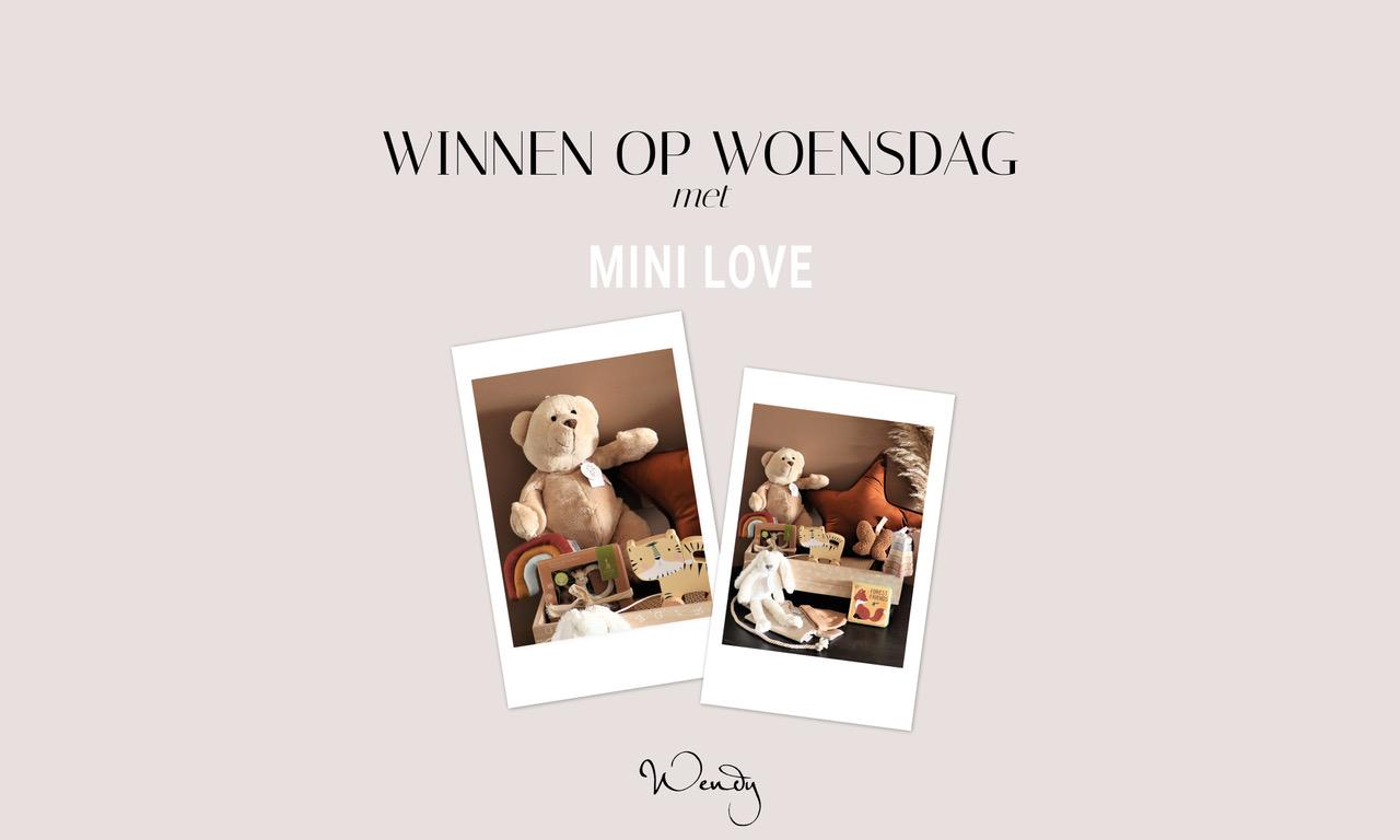 Header Winnen 2 Winnen op woensdag: win een lief babypakket van Mini Love