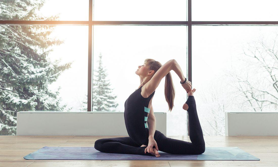 intensieve yoga poses
