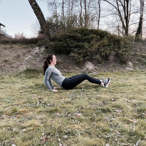 boat pose 2 Kelby's 10 minuten Body Weight workout