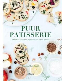 Puur Patisserie Cover Voor HR Recept: Vegan cheesecake met roos en pistache