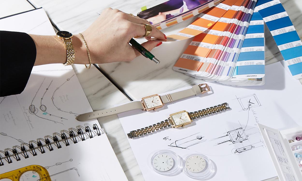 eigen horloge ontwerpen