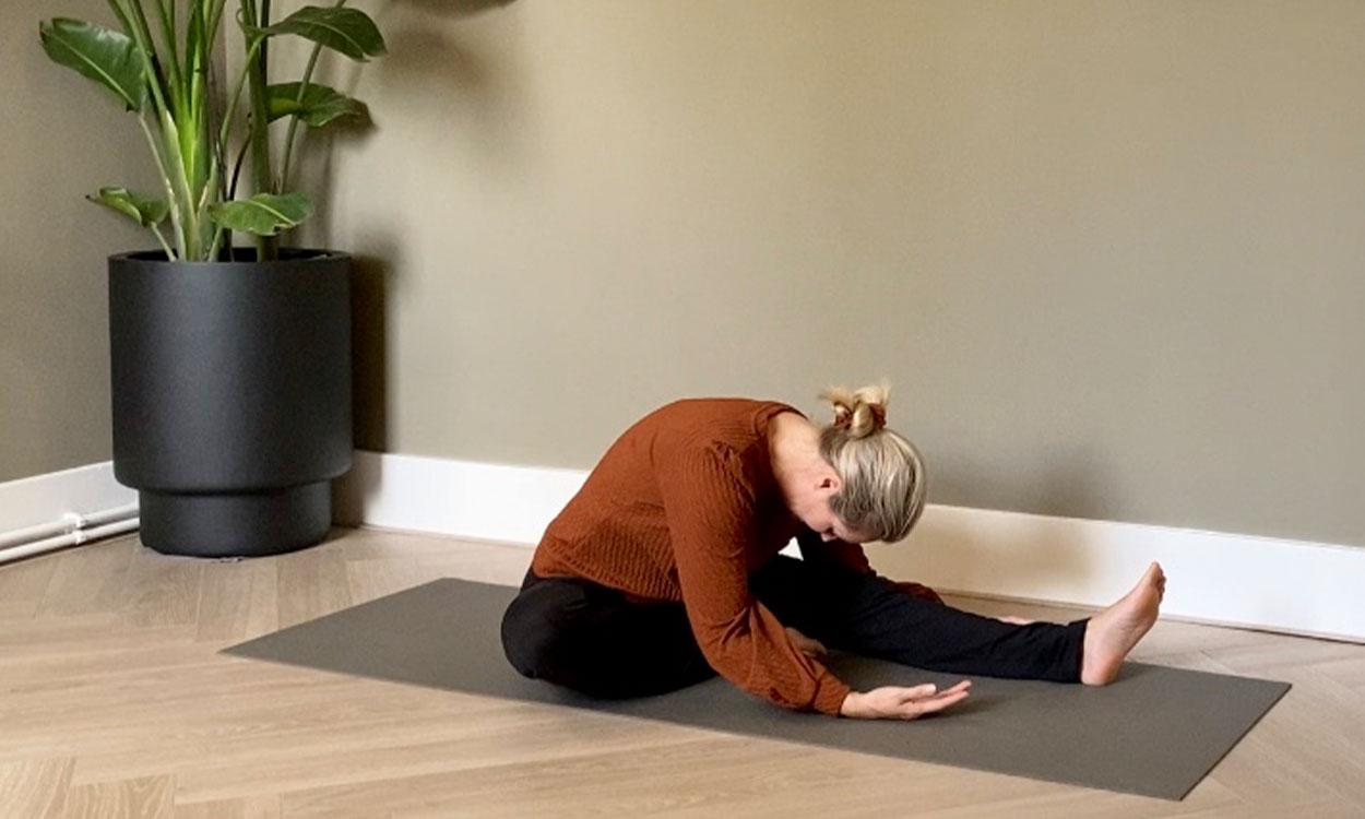yoga die helpt te herstellen van griep