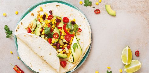 Recept: wrap met kidneybonen, mais en avocado