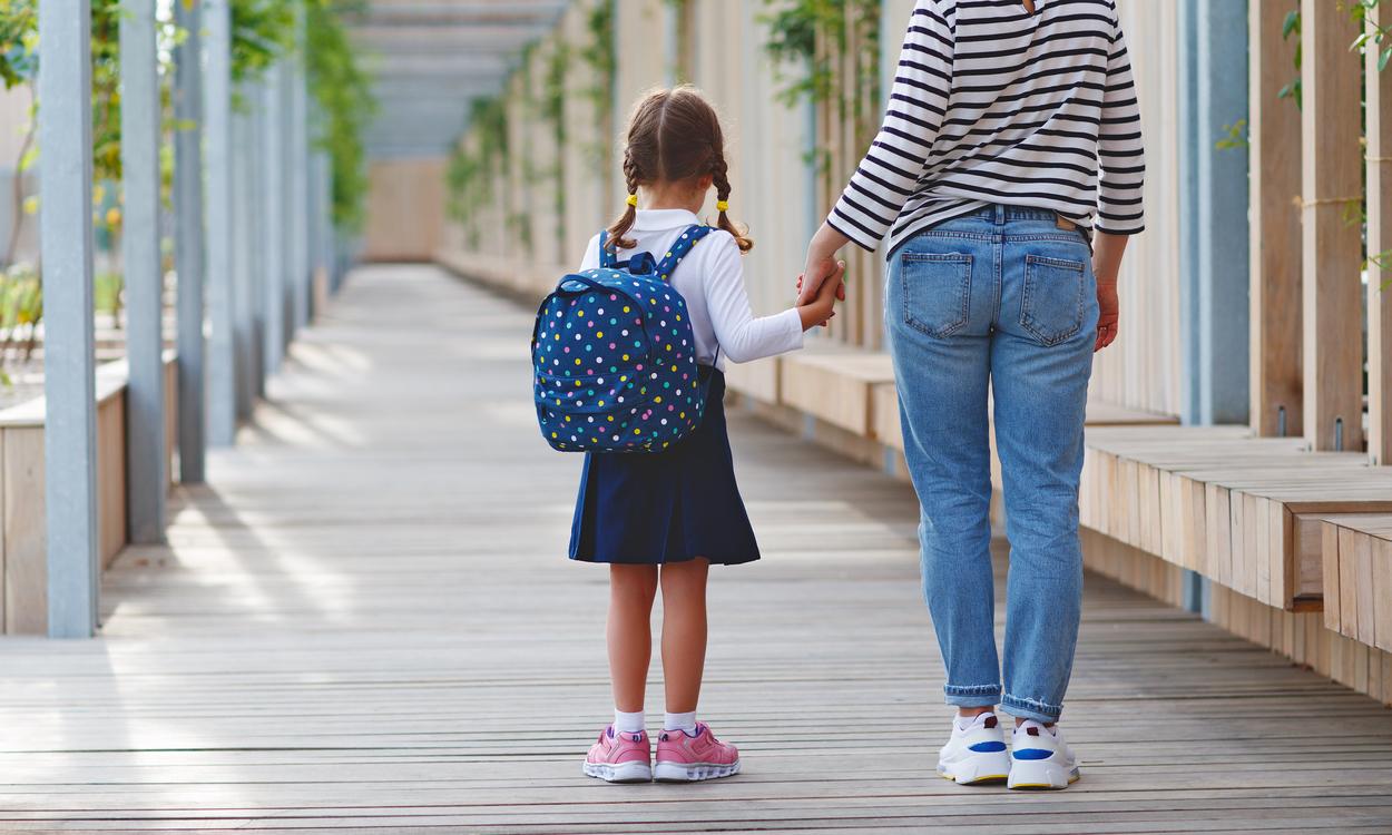 eerste dag school