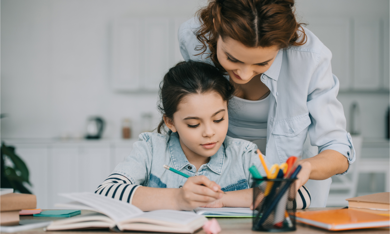 thuis lerende kinderen