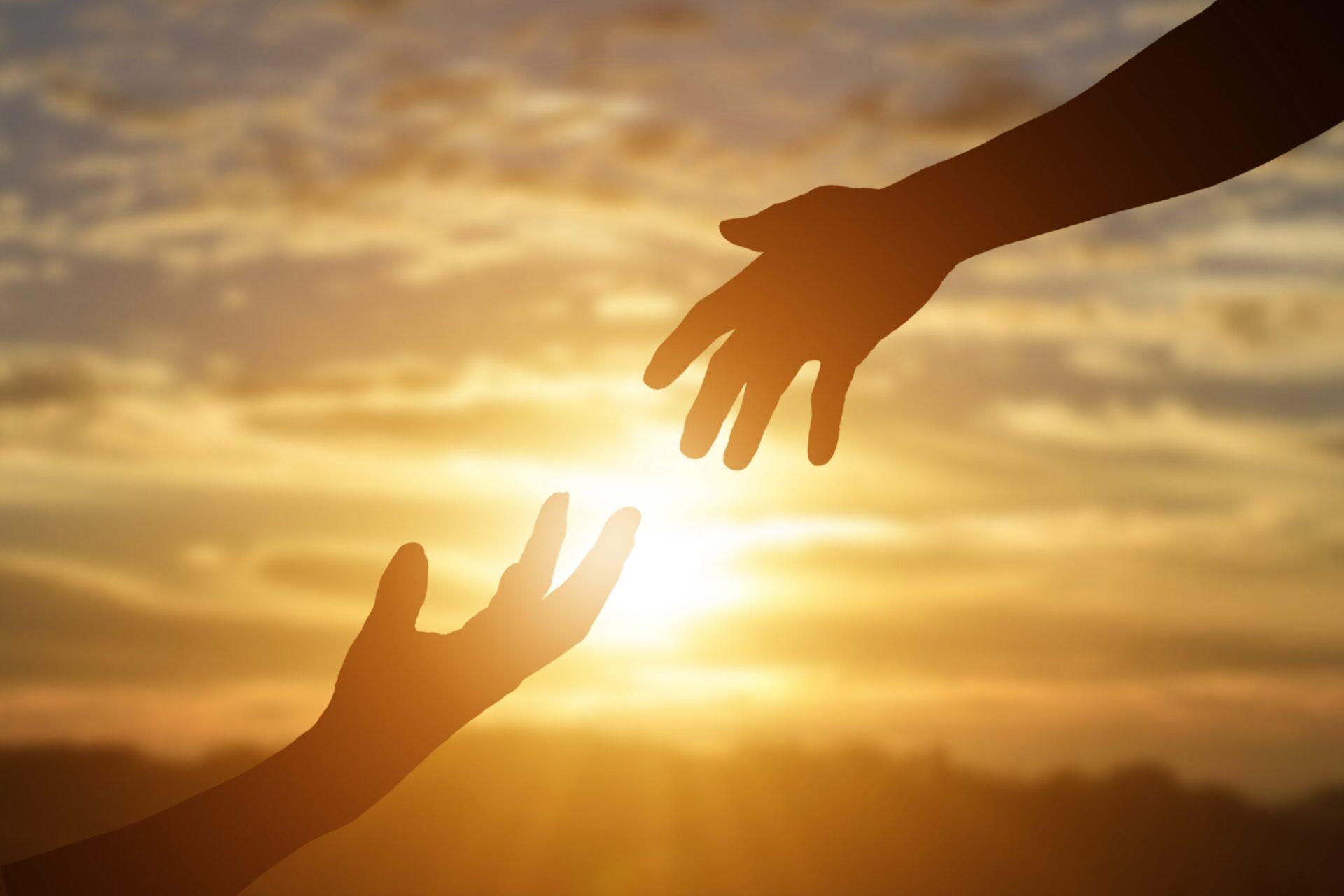 Anderen helpen geeft ons een goed gevoel.