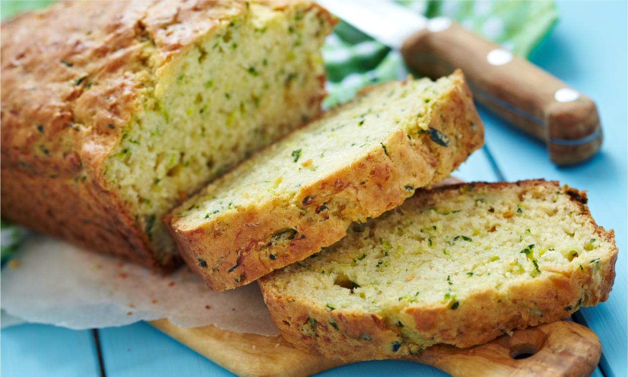 Rozemarijn courgette brood