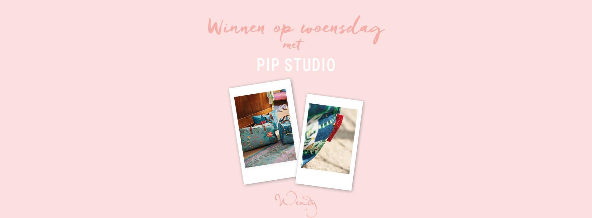 Header winnen op woensdag Winnen op woensdag: collectie tassen van Pip Studio