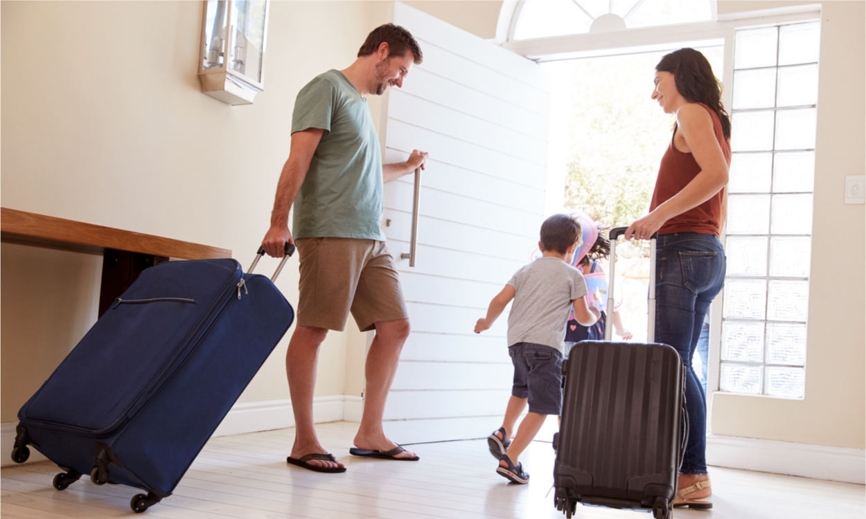 op vakantie als samengesteld gezin