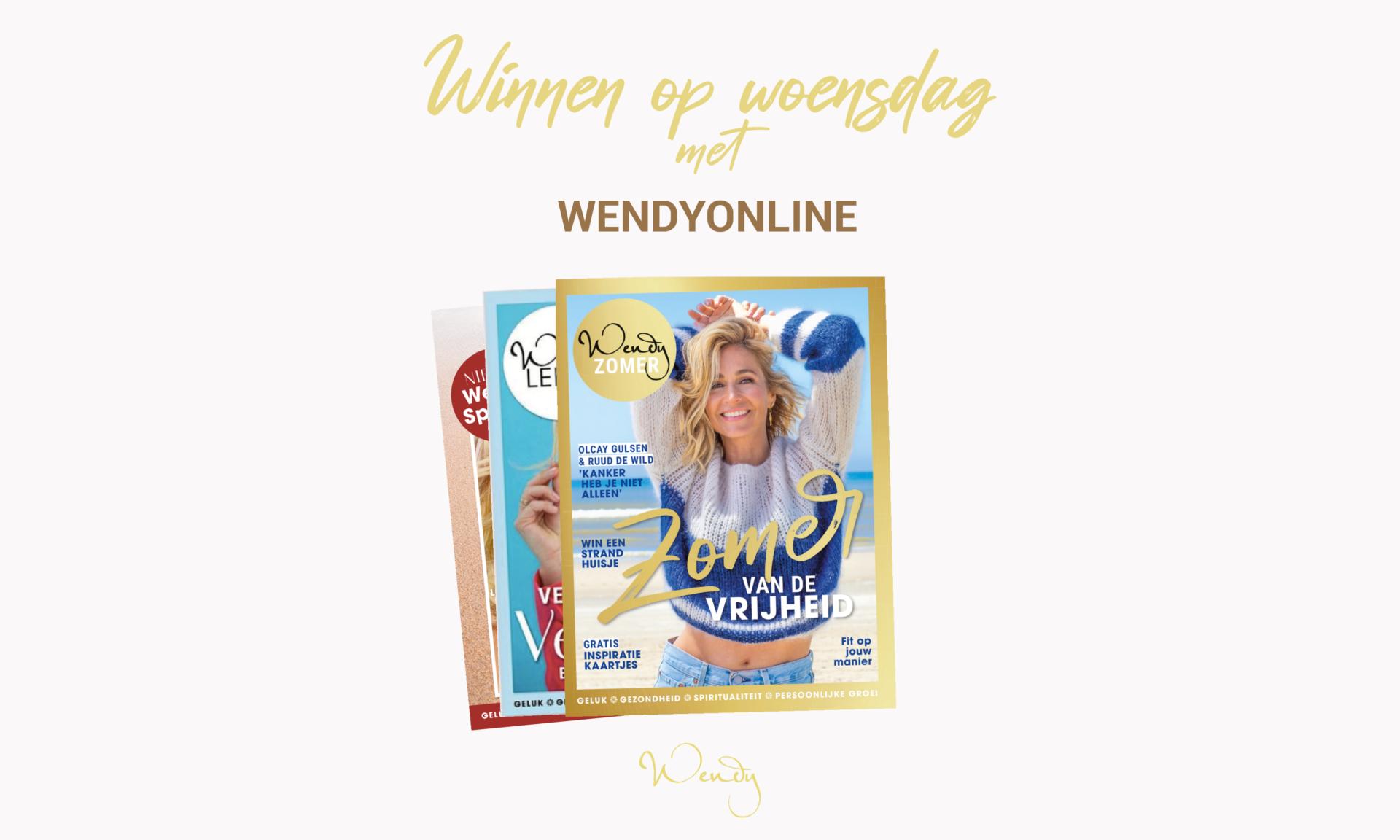 Header winnen op woensdag Winnen op woensdag: win een Wendy-special abonnement!