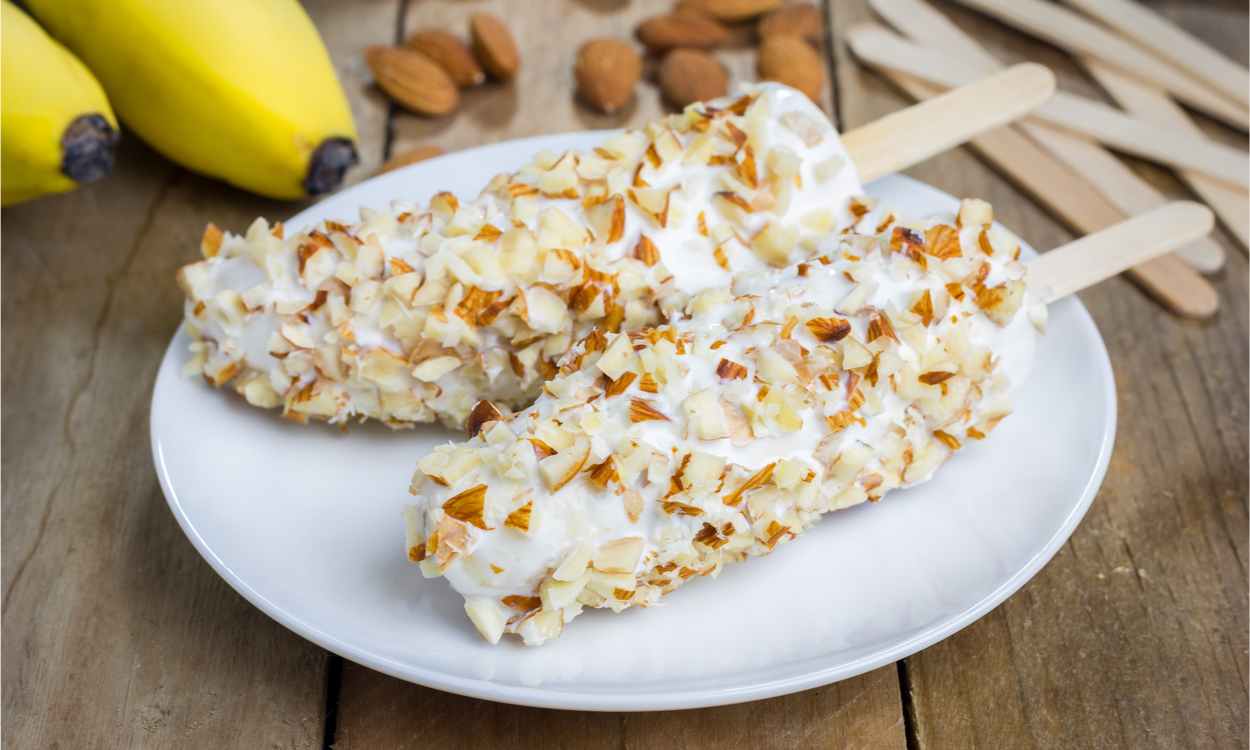 Banaan ijslolly's