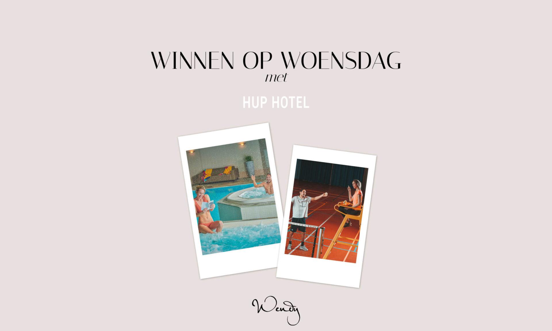 Header Hup hotel scaled Winnen op woensdag: een overnachting voor energieke koppels in het HUP hotel!
