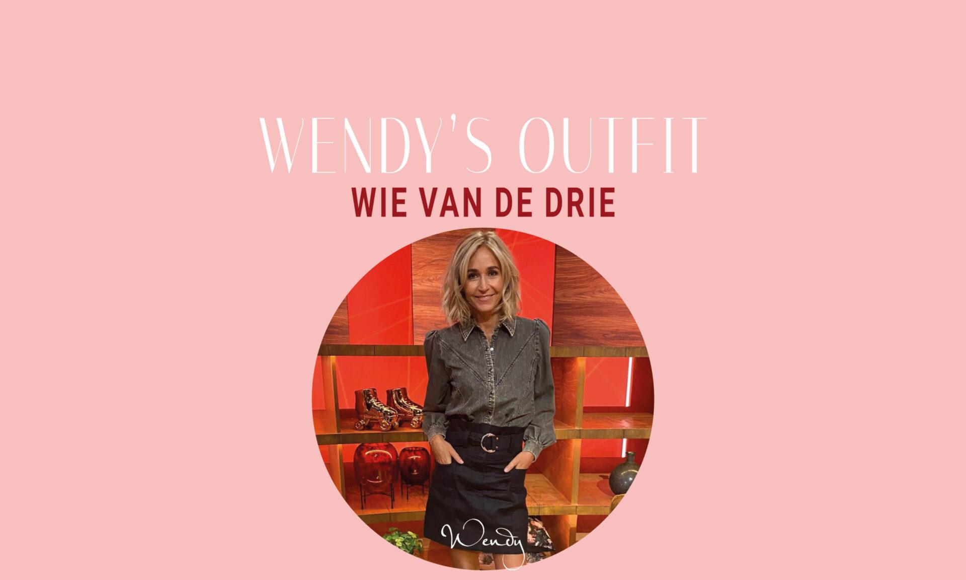 wendy outfit wievd3 scaled Wendy's outfit: Wie van de drie (seizoen 3 afl. 2)