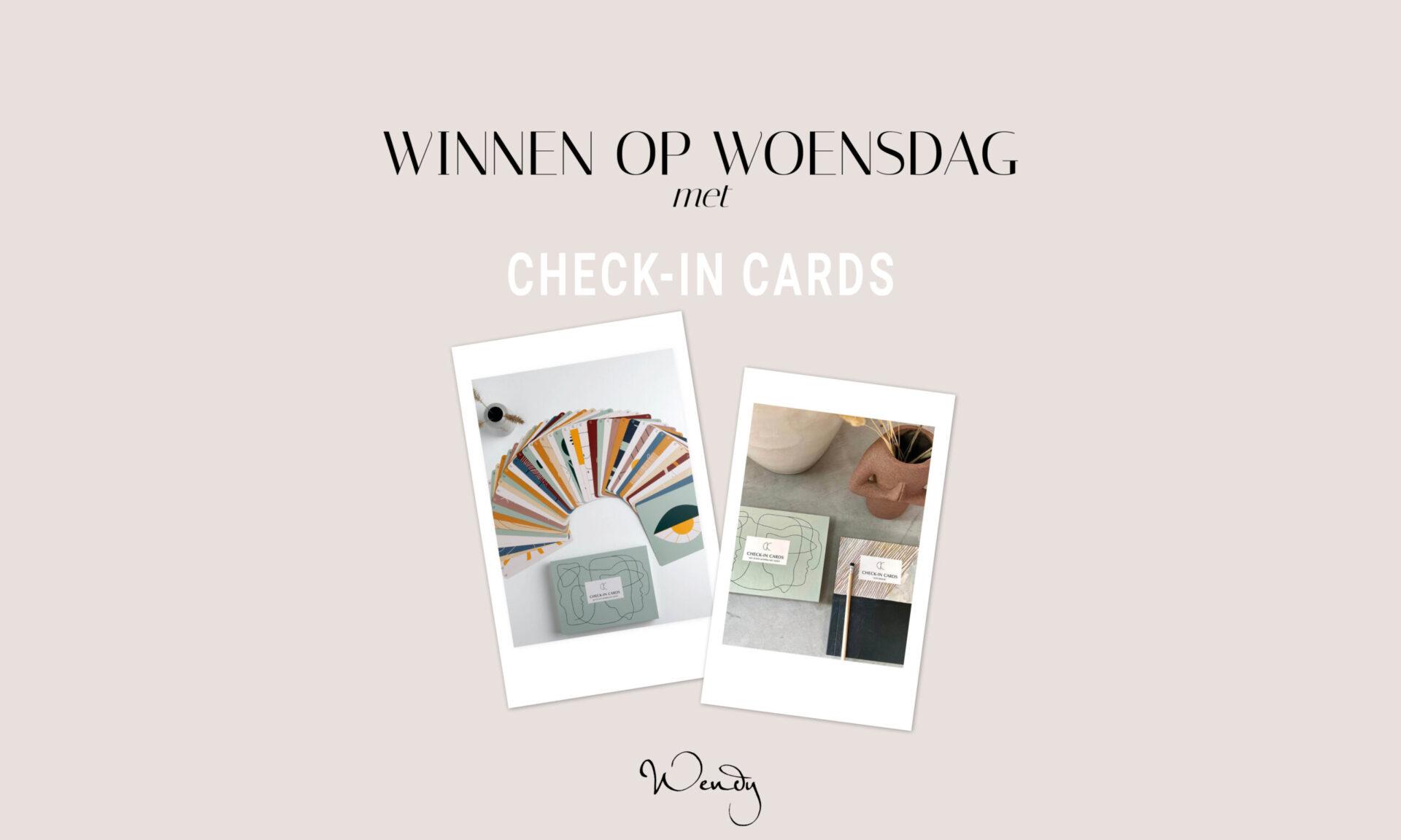 winnen op woensdag check in scaled Winnen op woensdag: win een notebook en kaartenset van Check-in Cards!